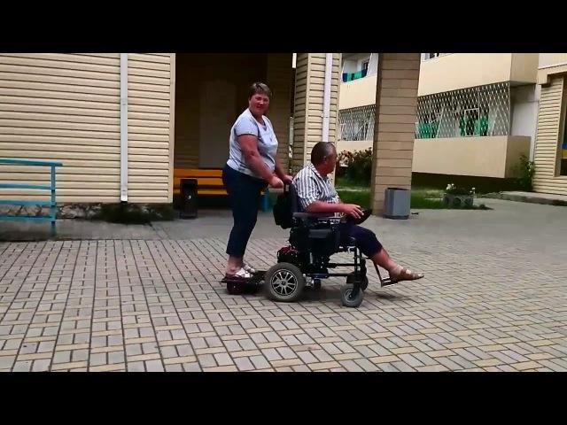 Прицеп для инвалидной электроколяски