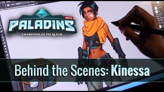 Paladins - Behind the Scenes - Kinessa
