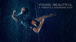 VERSATILE ASSASSINS | Young & Beautiful | Blindfolded Aerial Performance in Rain Room - Selkie Hom