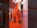 Powder coating line for Basketball hoop