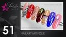 Nailart mit Folie ❀ Foil Nail Designs (Saida Nails Nailart)