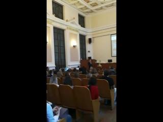 пленарное заседание 77 итоговой научной студенческой конференции им. Н.И. Пирогова