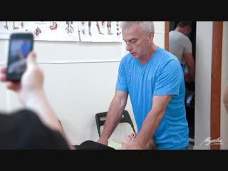 Deep tissue massage. александр билькевич