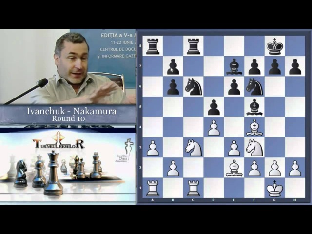 Bazna Kings' Daily Briefing Round 10 Ivanchuk