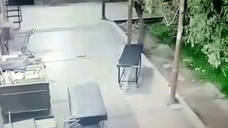 Полтергейст опрокинул носилки в госпитале