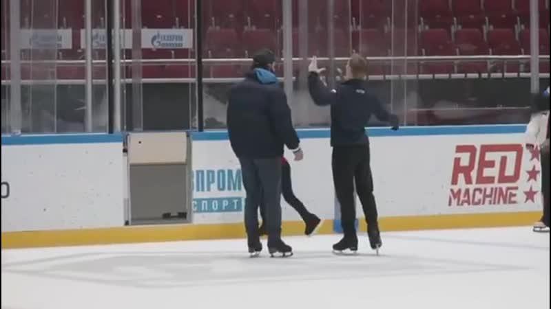 Михаил Коляда и Илья Авербух постановка ПП Белый ворон