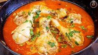 Вот так нужно готовить курицу, чтобы все были в восторге, цыганка готовит.