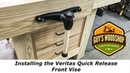 Installing the Veritas Quick Release Front Vise