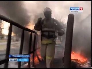 Курсанты Ивановской пожарно-спасательной академии сдали первый серьезный экзамен