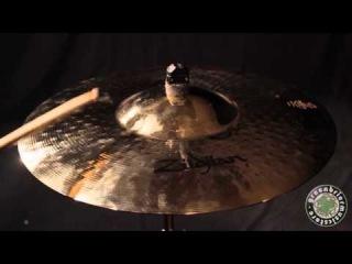 Zildjian Avedis 21 Mega Bell Ride Brilliant Cymbal Show Display Stock ZAS315