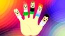 Английская песенка про Семью пальцев - Finger Family! Песенки на английском - Английский для детей
