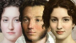 Портреты красавиц из донжуанского списка Пушкина ожившие при помощи нейросетей