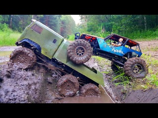 RC Extreme Pictures - RC Trucks Mudding 4x4 Adventure  Deep Paddles OFF Road