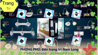 Phong phú Đèn trang trí Nam Long
