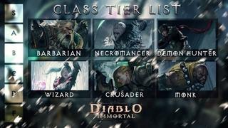 Diablo Immortal HERO Tier List