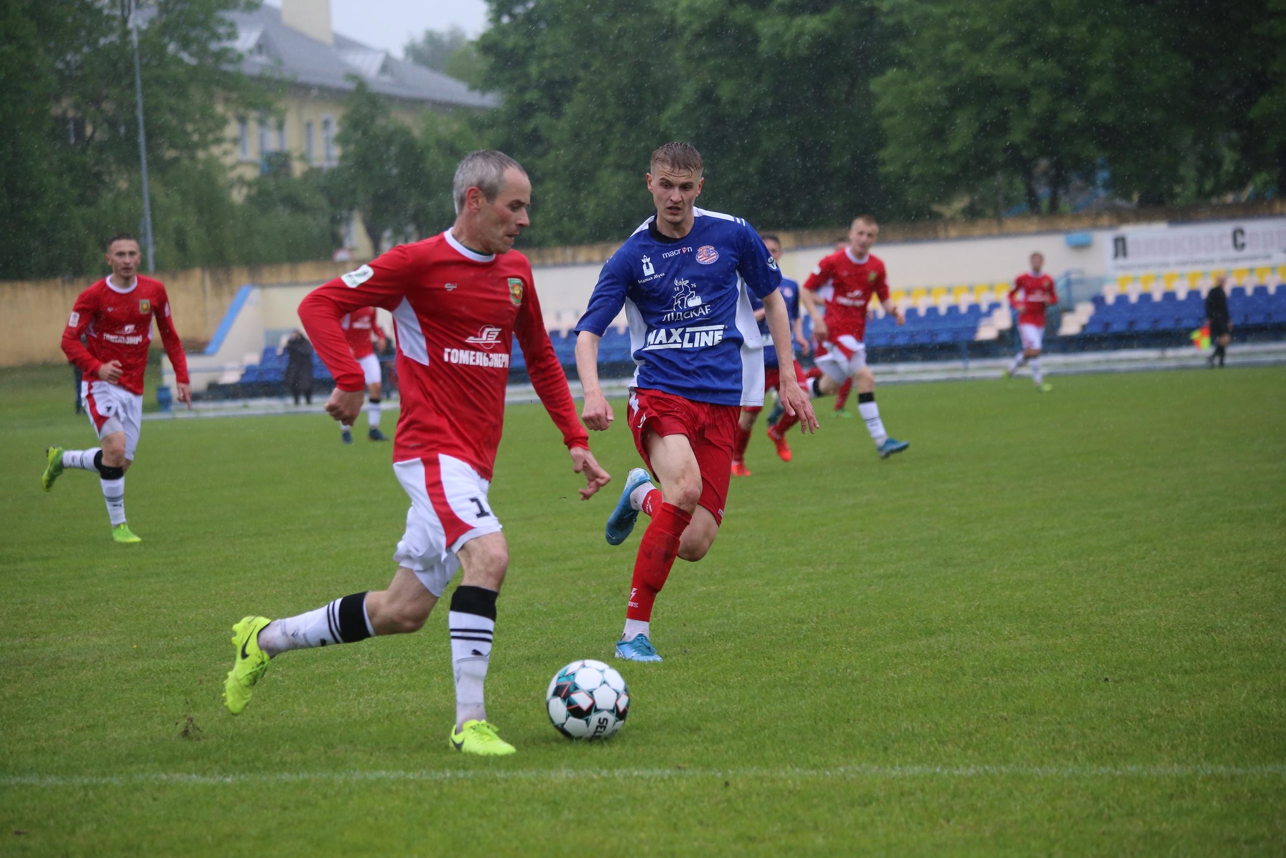 Футбольный клуб «Лида» сыграл вничью со светлогорским «Химиком».