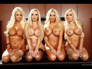 Summer Brielle, Nina Elle, Nikki Benz, Courtney Taylor