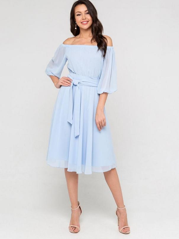 Легкие шифоновые платьяпридают образу женственности и нежности