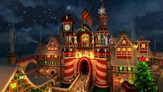 🎅🏻🎄 🎁 Santa´s Castle 4HR 1080HD Christmas Music