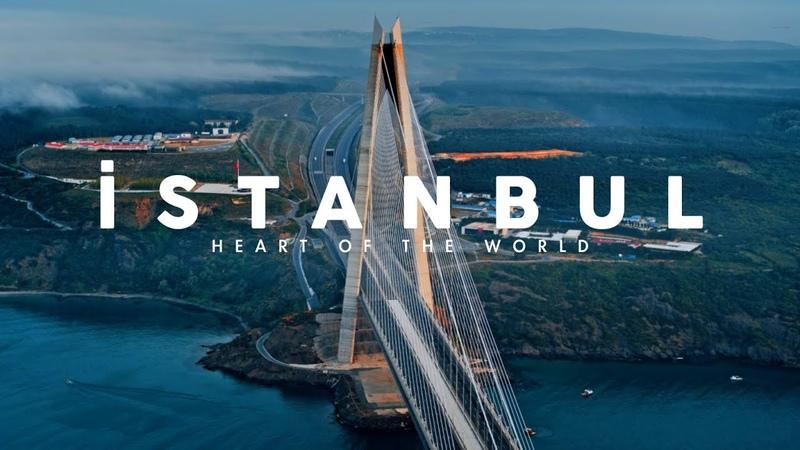 Istanbul Turkey Aerial Drone 6K Video