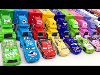 Disney Cars Toys Learning Video for Toddlers Learn Colors