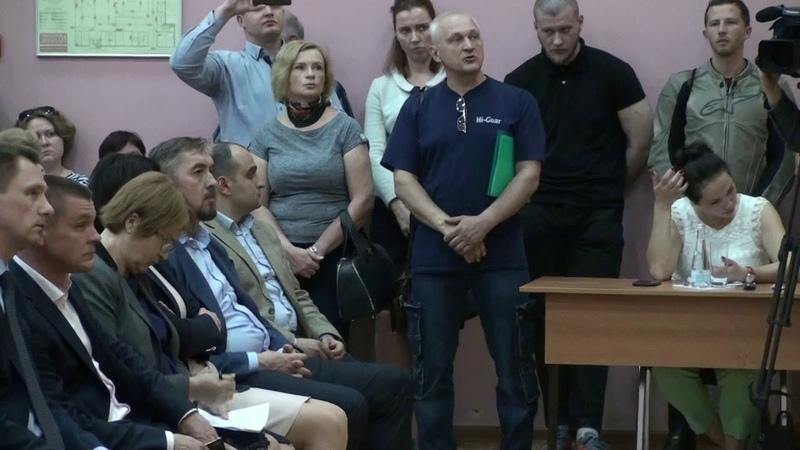 Слушания по объединению в округ в с п Булатниковское