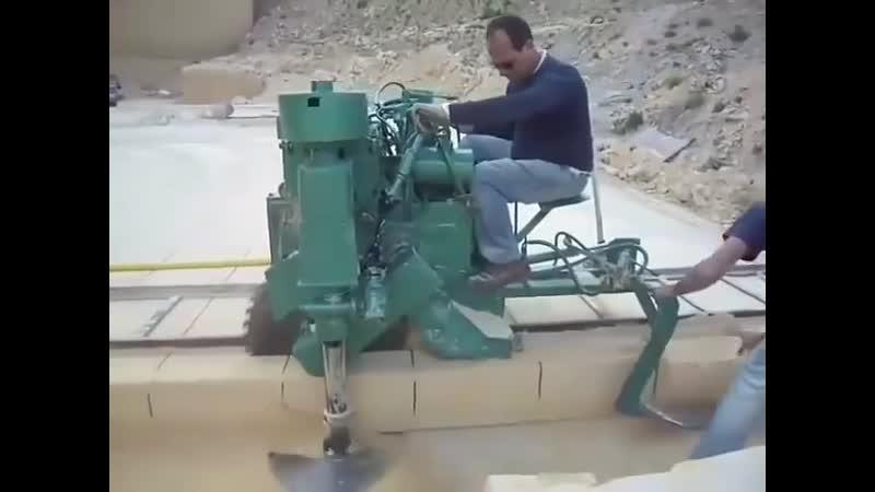 Камнерезная машина
