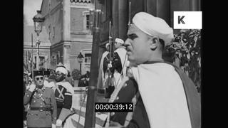 1939 Madrid, Spanish Civil War, WWII Newsreel, 35mm
