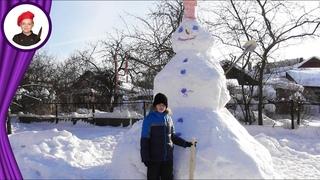 Снеговик Поваренок на конкурс. Георгий Апухтин