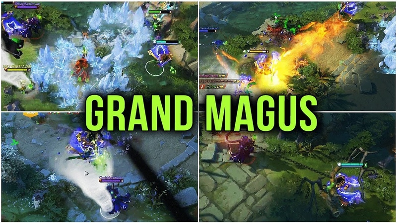 HexOr Playing Grand Magus Custom Map vs TOP Rank Immortal Players LIVE @ dota Dota 2 2