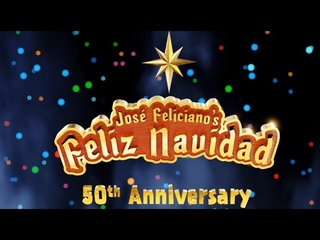 José Feliciano - Feliz Navidad 50th Anniversary (FN50) (Official Music Video)