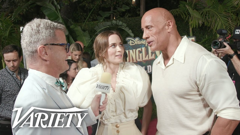 The Cast of Disney's 'Jungle Cruise' Talk Turning The Iconic Ride Into a Film