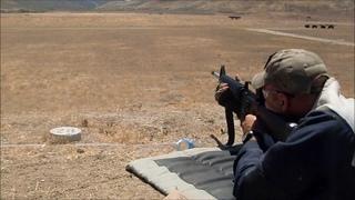 AR-15 600 yards Iron sights
