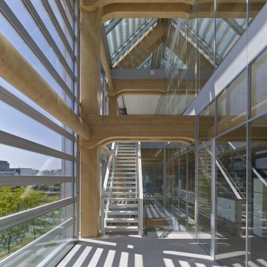Tamedia Office Building / Shigeru Ban Architects