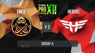 CS:GO - Heroic vs. ENCE [Nuke] Map 2 - ESL Pro League Season 12 - Group A - EU
