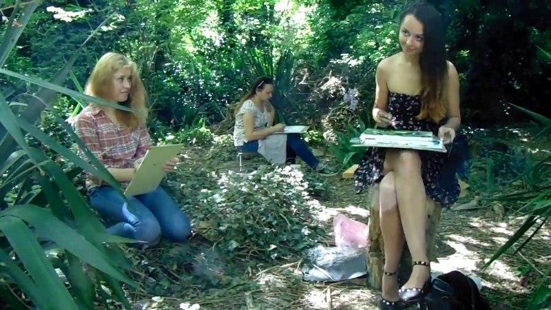 русалки в лесу