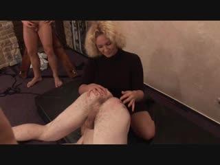 CZECH CFNM Part 3. femdom, voyeur, fetish, strapon