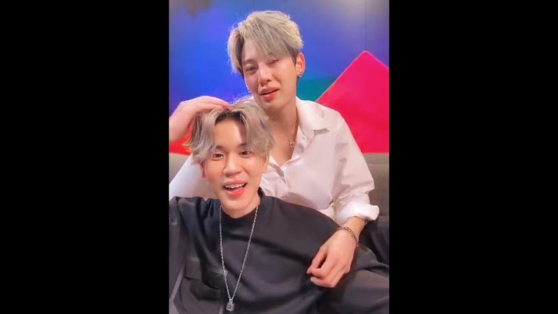 """[17.09.2020] บุ๋นเปรม (Bounprem) - JOOX Live """" มาร้องเพลงกันค้าบ """" 💕 bb0un prem_space"""