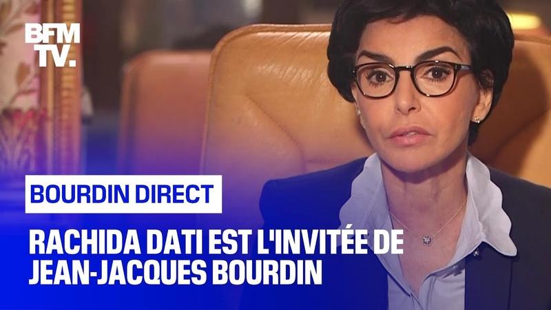 Rachida Dati face à Jean Jacques Bourdin en direct