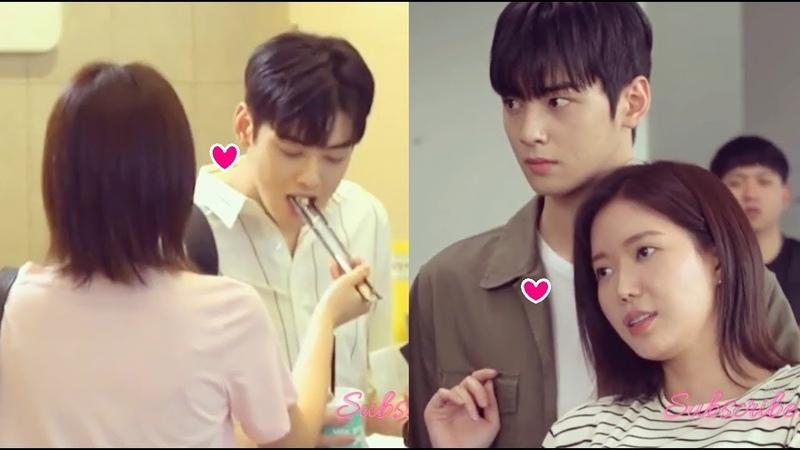 Cha Eun Woo Im So Hyang ~ My Type My ID Is Gangnam Beauty Love Moments