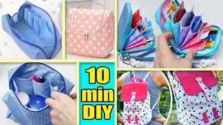 4 DIY BAG TUTORIALS / Make for Yourself or Sell and Make Money