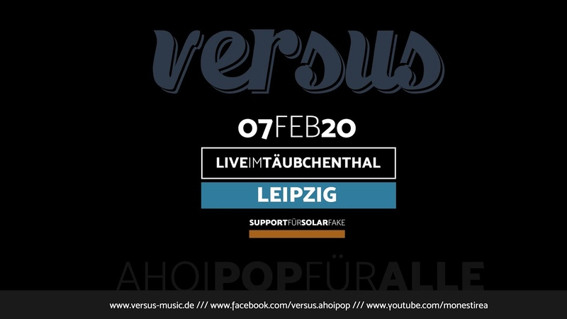 VERSUS Live im Täubchenthal Leipzig 2020 02 07 Full Concert Uncut Version