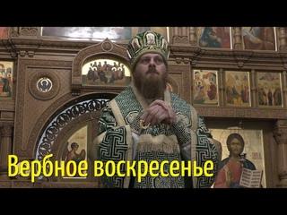 """""""Со Христом мы не умрем"""". Проповедь. Владыка Амвросий. Вербное воскресенье."""