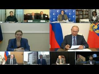 Встреча Президента России Владимира Путина с деятелями культуры