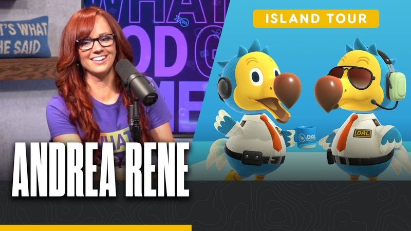 Andrea Rene's Tropical Vacation Island Tour Animal Crossing New Horizons