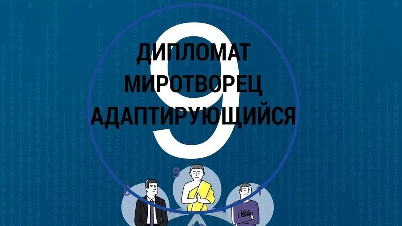Командные роли ТИП 9 Миротворец Дипломат МАТРИЦА 9ФИГУР