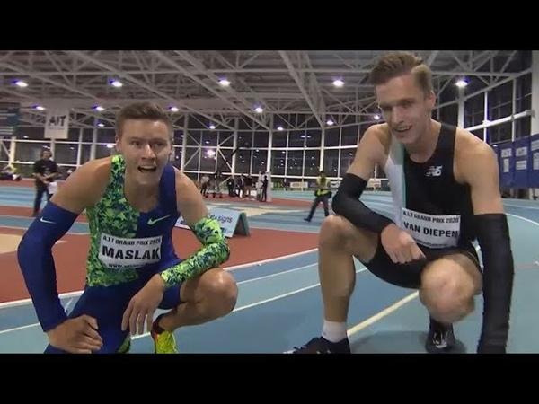 Men's 400m Race at AIT Grand Prix 2020