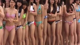 Top 1000 Hot Asian Bikini Girls Convention (Soundtrack: Hello Lady Beautiful - Edgar Murray)