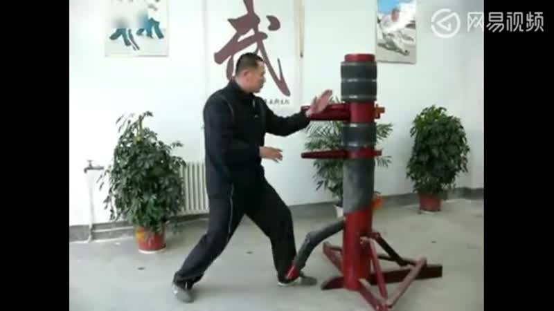 Методы работы с деревянным человеком 木人桩 в синъицюань