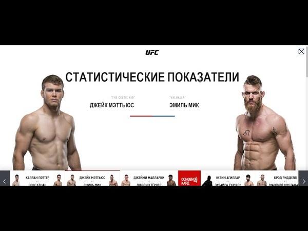 Прогноз MMABets UFC on ESPN 26 Мэтьюз-Мик, Поттер-Кенан, Нэм-Франс. Вып №178 Часть 24